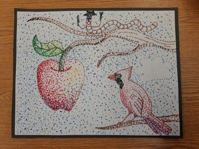 Sample - Pointillism